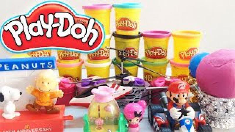 Play Doh Surprise Eggs | Play Doh Surprise Balls | Egg Surprise Toys For Kids | Videos playdough