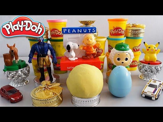 Play Doh Surprise Eggs | Play-Doh Surprise Balls | Egg Surprise Toys For Kids Videos Eggs Surprise