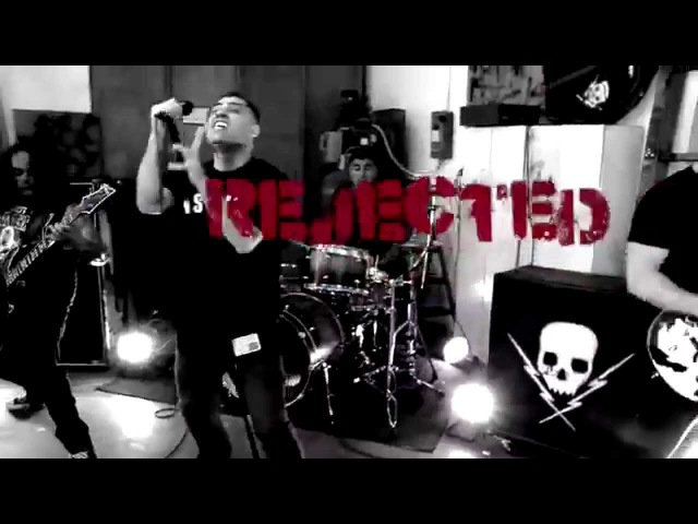 Death by Stereo - Rejected feat. Skinhead Rob - Official Music Video