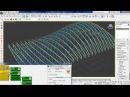 Parametric trusses using pattern controller