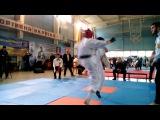 Юный Самурай-2016, Feb 13. Чернявский М. 1 бой