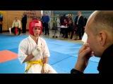 Юный Самурай-2016. Feb 12. Бурдужан Д., 1 бой