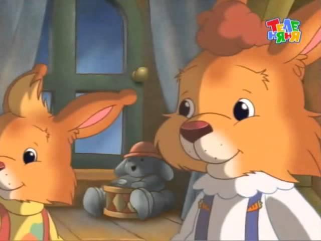 Истории папы Кролика 49 Рыжик и волшебник