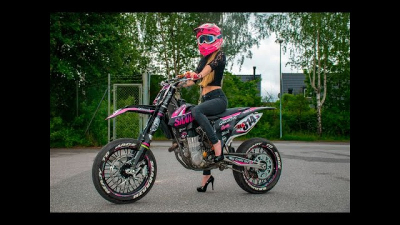 Saaraazh - Two Wheels, High Heels || Supermoto, Summer