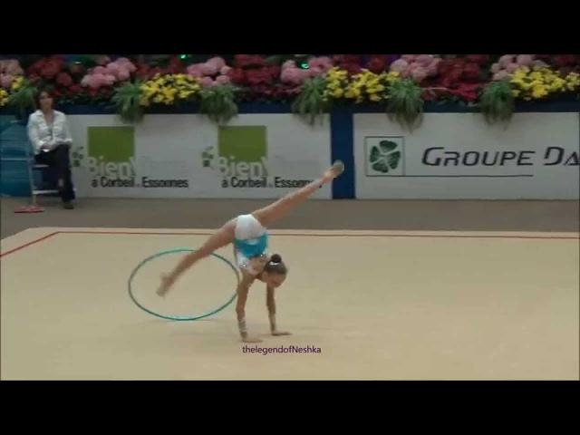 АРИНА СУЩИНСКАЯ (BLR) hoop - Corbeil 2015 junior AA