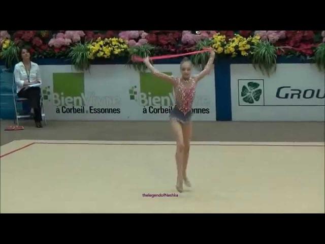 Арина Сущинская (BLR) rope - 2015 Corbeil junior AA