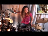 Jump (Van Halen), drum cover by a 14 year old girl