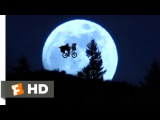 Across the Moon - E.T. The Extra-Terrestrial (710) Movie CLIP (1982) HD