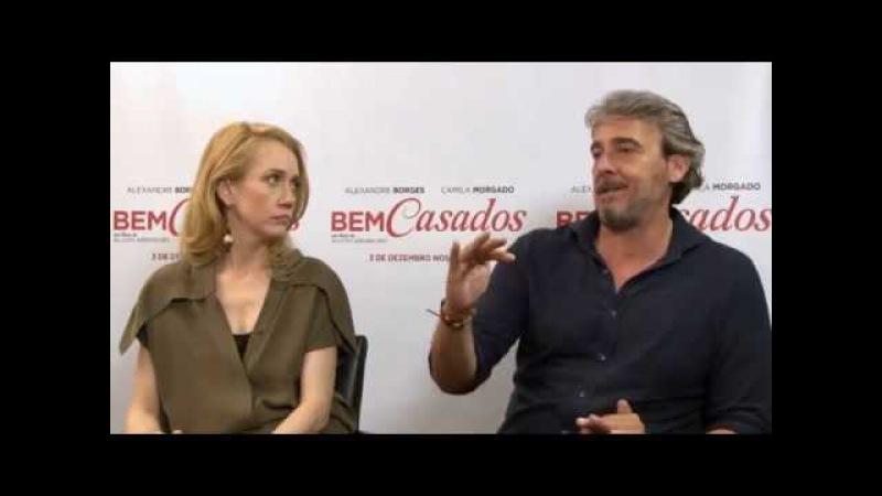 Bem Casados | Pipoca De Pimenta entrevista Alexandre Borges e Camila Morgado