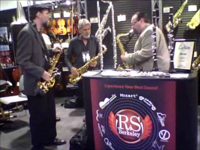 RS Berkeley | The 2013 NAMM Show - Eddie Daniels, Dave Schumacher and Greg Fishman