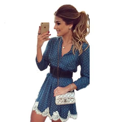 Модные вечерние и повседневные кружевные платья 2018-2019 фотообзор новинок