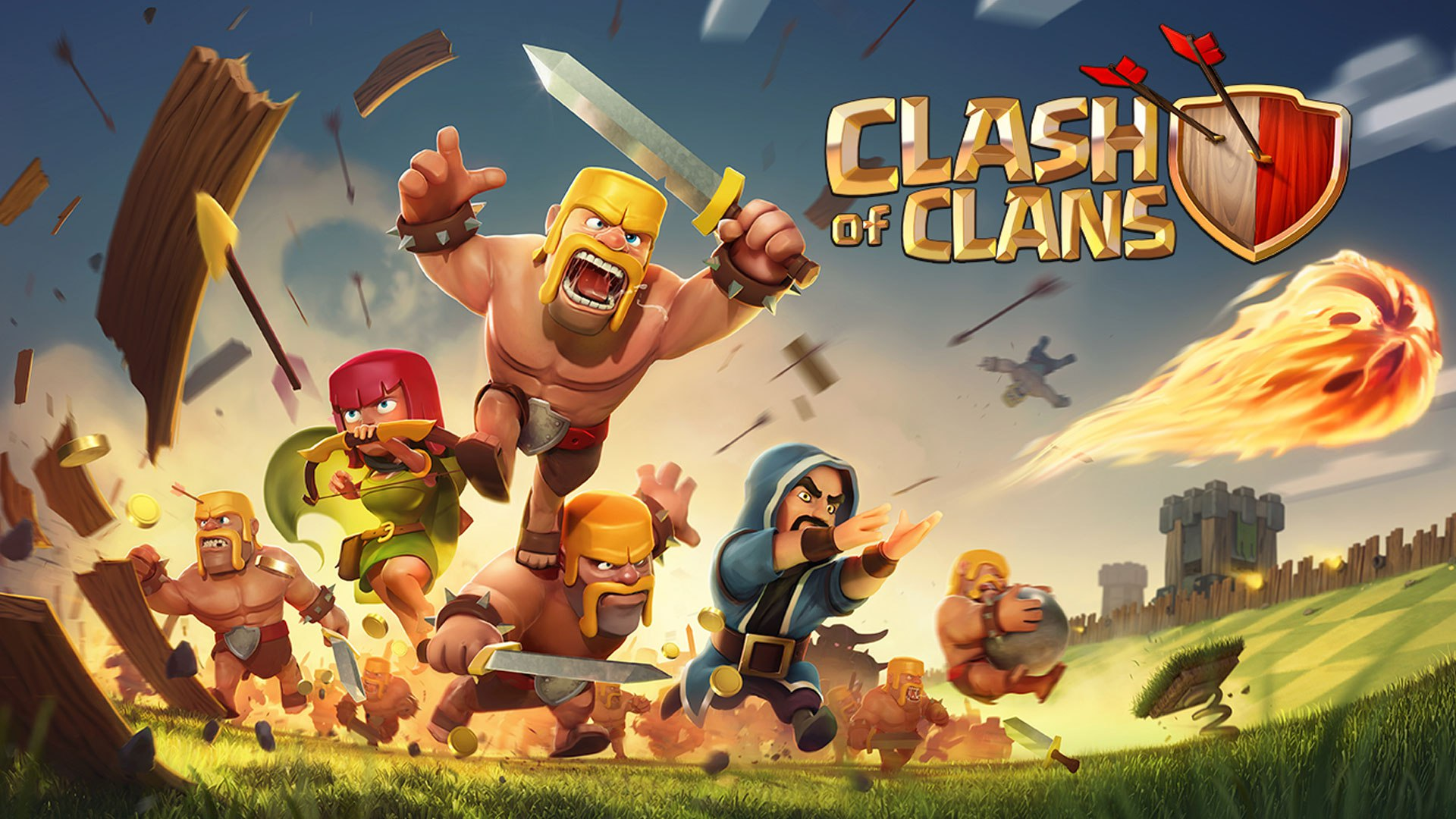 Аккаунт Clash of Clans