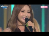 Hong Jin Young (홍진영) - Thumb Up (엄지 척) @ Inkigayo (15.05.16)