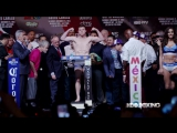 HBO Boxing - Cotto vs. Canelo Weigh-In