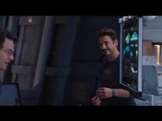 Tony Stark & Bruce Banner (Мстители 2012 отрывок из фильма)