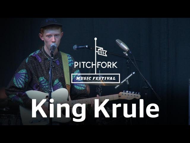 King Krule performs