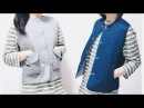 Refashion DIY Reversible Vest リバーシブルベストの作り方ㅣmadebyaya