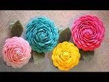 Как сделать цветы из тесьмы  Ярмарка Мастеров