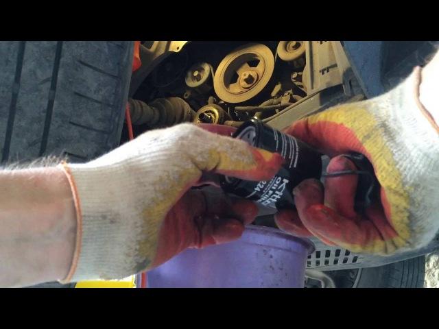 Замена масла и фильтров на Ниссан Мурано Z51 2010 года Nissan Murano