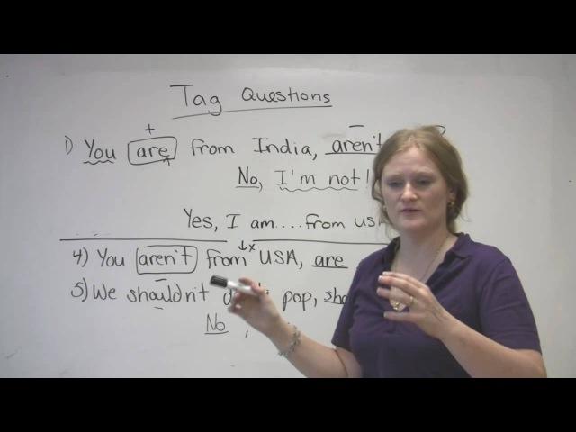English Grammar - Tag Questions