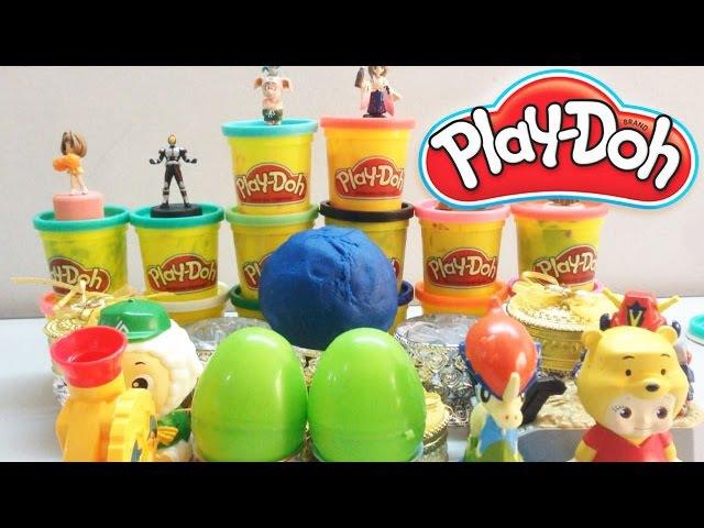 Play Doh Surprise Eggs | Play-Doh Surprise Balls | Egg Surprise Toys Videos For Kids.