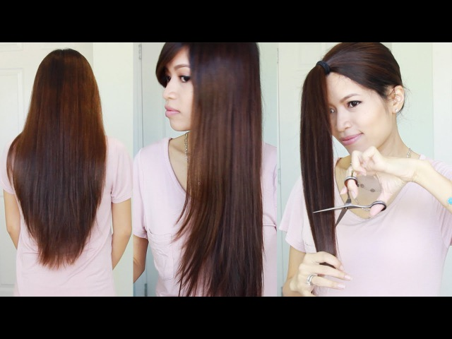 The Best Hair Hack ♥ How to Cut Layer Your Hair at Home