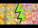 Открываем сюрпризы Том и Джерри шоколадные шары и коллекционные карточки 1996 года Tom Jerry