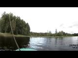Ловля щуки на спиннинг осенью в траве видео отчет Рыбалка 29 августа 2014  Пой