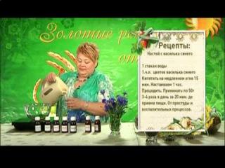 Целительница Софья Нагорняк - Лечебные свойства василька синего