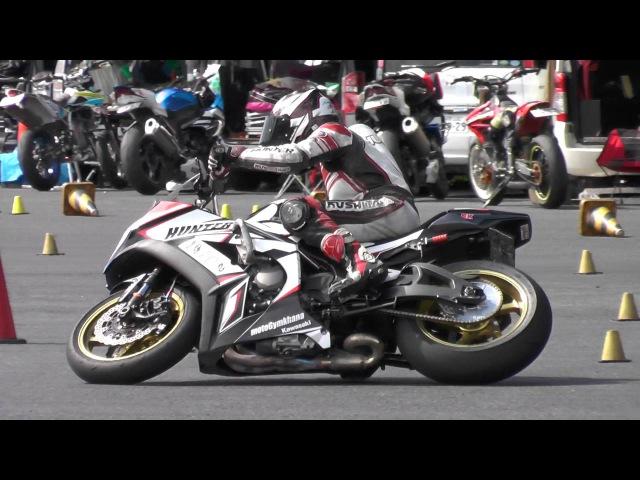 MotoGymkhana 2016 Dunlop Round 3 H2 ZX-10R Tabibito