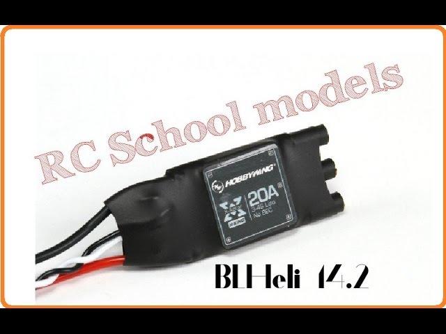 Прошивка XRotor 20A на BLHeli 14.2 (Дополнение к сборке ZMR250)