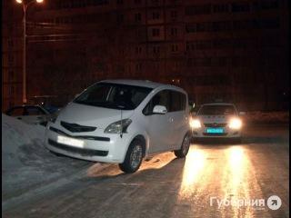 Полицейская машина оказалась поврежден в погоне за пьяным водителем в Хабаровске.MestoproTV