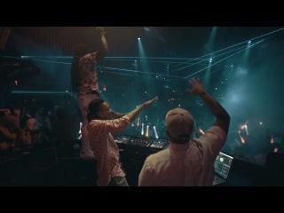 Wiz Khalifa show the club @marqueelv. Dj Daddy Kat
