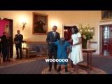 Радість 106ти річної бабусі від зустрічі з Обамою