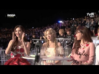 151202 #EXO @ 2015 MAMA in Hong Kong | EXO Best Male Group award