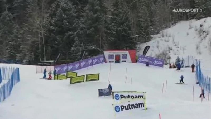FIS Alpine WC15-16г. SL 2-RUN, Aspen США , жен. 29,11,15г.