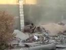 У террориста ИГИЛ взорвался самодельный миномёт.