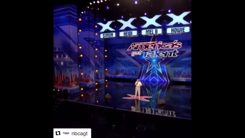 Repost @nbcagt via @repostapp ・・・ Age is nothing but a number @johnsbusiness AGT DrowningPool LetTheBodiesHitTheFloor