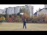 Первый неудачный полет биплана (авамоделст Олексй Приходько)