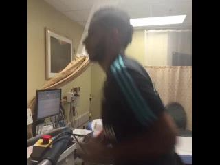 Younes #Belhanda beim Belastungs-EKG. #S04 #SchalkeInUS