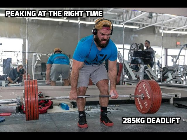 IPF Arnold Pro | 285kg Deadlift | Week 6 p2