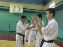 Тренировка Евгения Рязанова по киокушин-каратэ. Июль 2016 г.