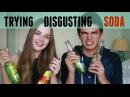 Trying Disgusting Soda Flavors (w/ Sasha Spilberg) | Brent Rivera
