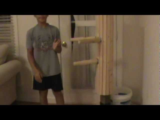 Making the Low Cost but Effective Wing Chun Dummy Part 1 of 2 Khang Tuong Nguyen