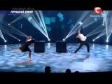 Даниель Сибилли и Яна Абраимова   Танцуют Все 7   Первый Прямой Эфир 05 12 2014 1