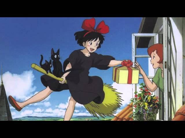 A Town With An Ocean View - Kiki's Delivery Service