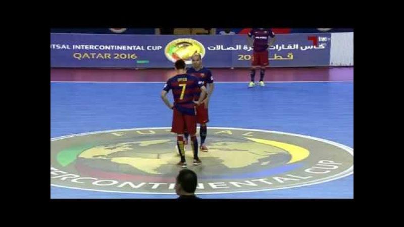 GOLS - Tasisat Daryaei 2 x 4 FC Barcelona - Intercontinental Futsal 2016