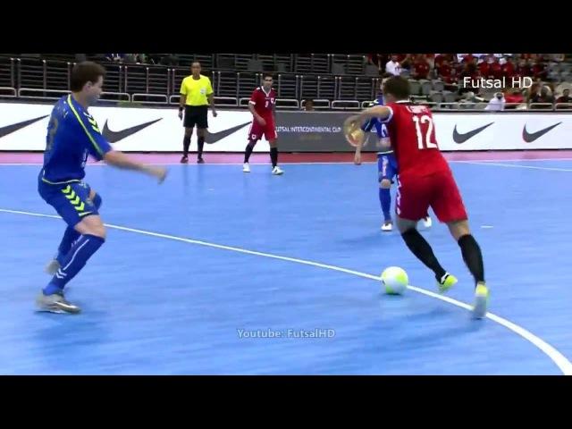 GOLS - Al Rayyan 1 x 2 Inter Movistar Intercontinental de Futsal 2016