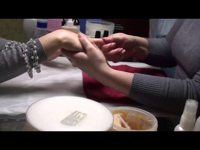 Спа маникюр OPI от салона красоты MISTERIA