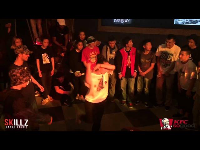 Just A Battle   Hip-Hop PRO 3*3 FINAL   Asya Diyor Bogdan vs. Alik Nazyma Bayel